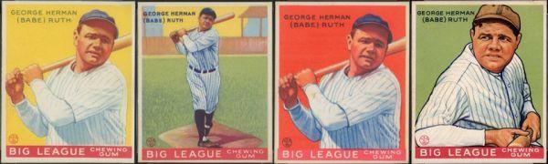 1933 Goudey Baseball Card Set