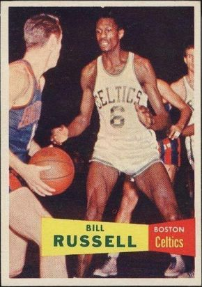 1957 Topps Bill Russell Rookie Celtics