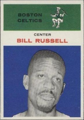 1961 Fleer Bill Russell Celtics
