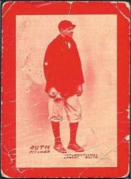 Babe Ruth 1914 Baltimore News Red