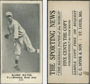 M101 Babe Ruth Sporting News
