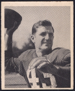 1948 Bowman Sammy Baugh