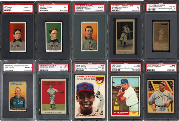 10 Of The Best Vintage Cubs Baseball Cards Ever Just Collect Blog