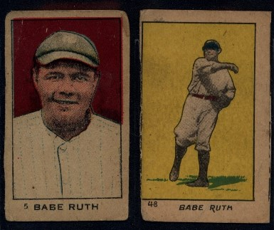Babe Ruth Strip Cards