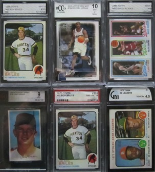 Miscellaneous graded cards