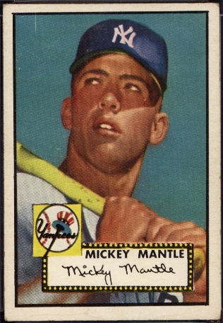 Mickey Mantle Rookie front