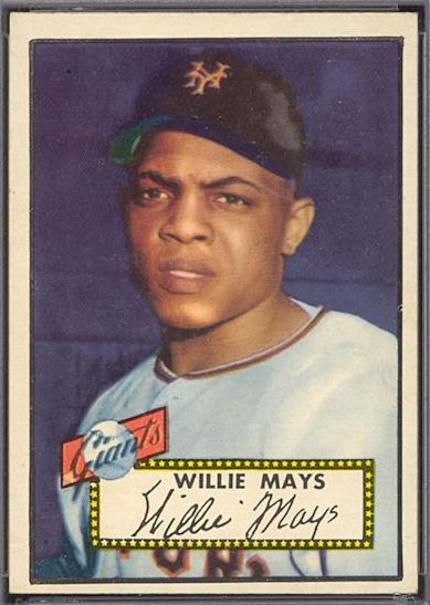1952 Topps Willie Mays Rookie