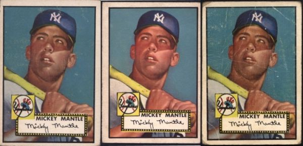 1952 Topps Mickey Mantle Rookie Card History Value