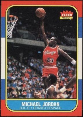 1986 Fleer Michael Jordan Rookie