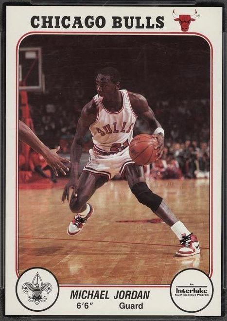 1985 Bulls Interlake Michael Jordan #1
