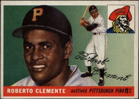 Roberto Clemente Rookie Card 1955 Topps 164 Value
