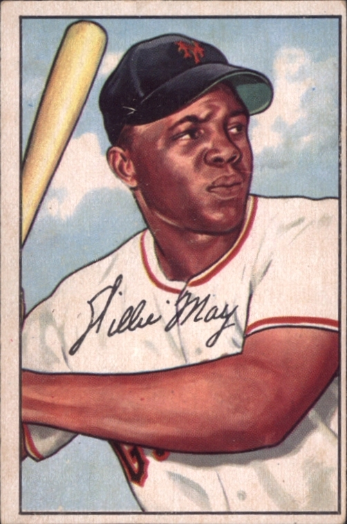 1952 Bowman Willie Manys