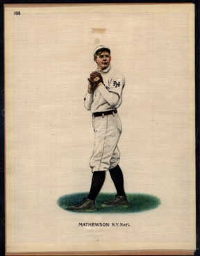1912 Helmar Silks Christy Mathewson #108