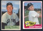 Mickey Mantle Topps and Bowman Cards