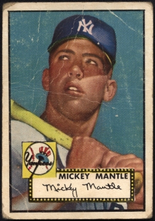The Mickey Mantle 1952 Topps Walk In Collection Just Collect Blog