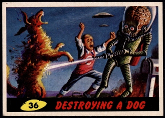 1962 Topps Mars Attacks!