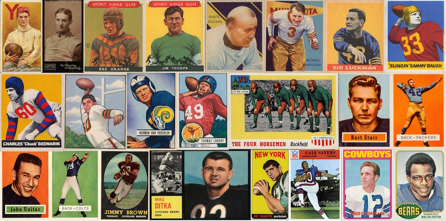 How To Sell Vintage Football Cards In Five Steps Just Collect