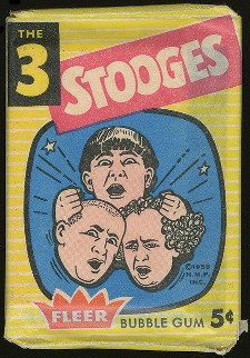 1959 Fleer Three Stooges Wax Pack