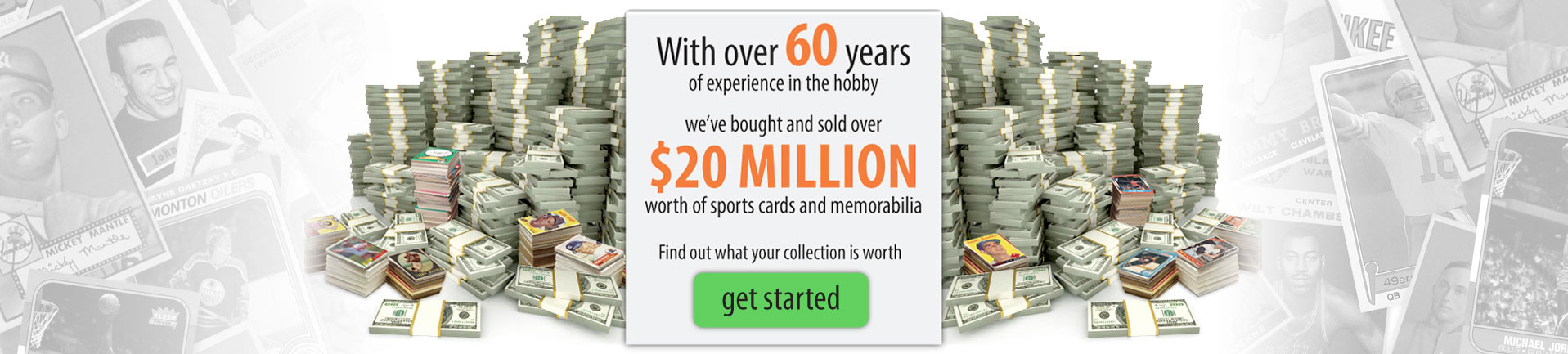Just collect the nations largest buyer of vintage baseball cards sciox Gallery